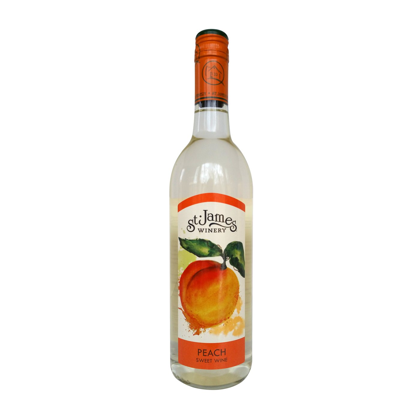 St James Missouri Peach Wine Descheres Drink Different