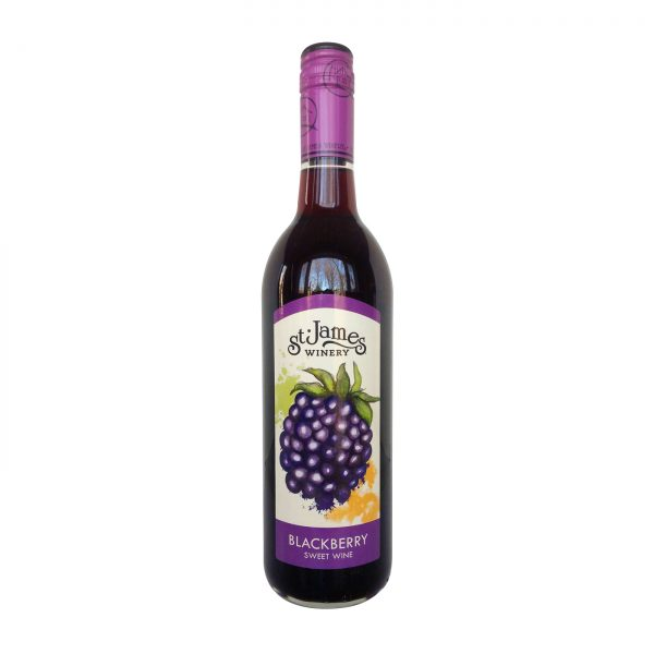 St. James Blackberry Wine